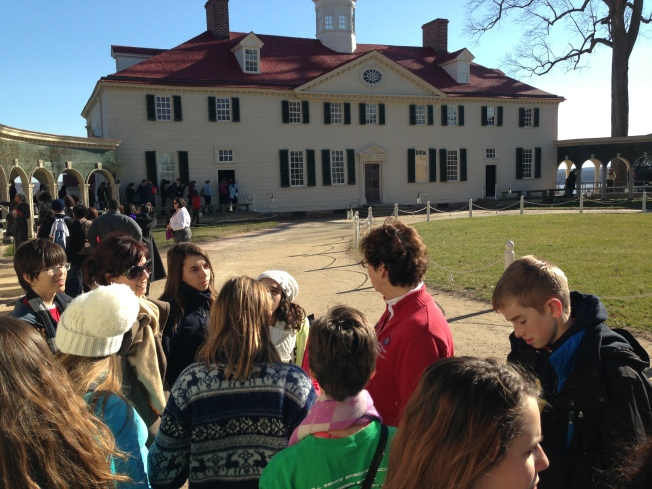 Mount Vernon Opens Library Dedicated to Washington