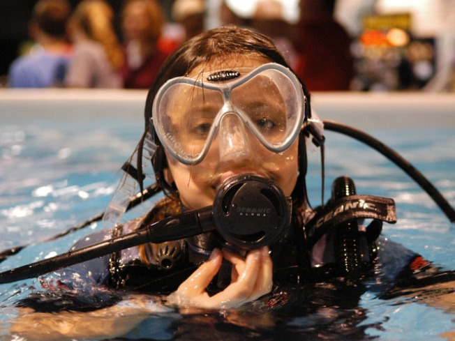 Scuba Diving at the Convention Center -- Yes, Really