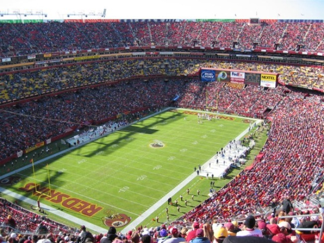 Redskins Remove Seats at FedEx Field