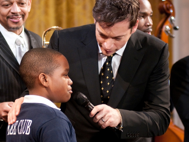 Lucky D.C. Student Performs at White House
