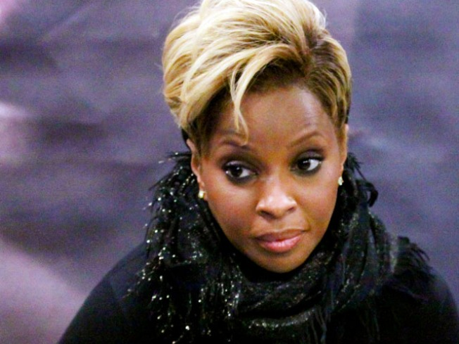 Mary J. Blige Didn't Slug Hubby: Rep
