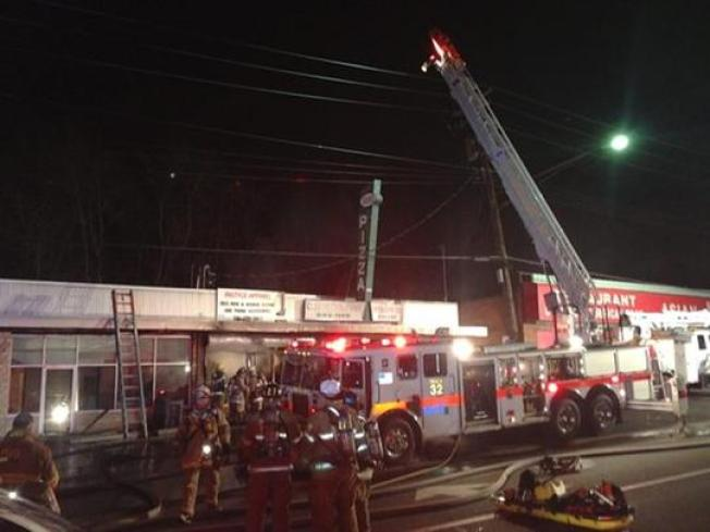 Strip Mall Fire in Pr. George's County
