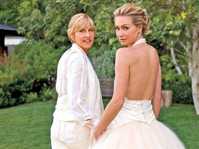 Portia De Rossi On Falling For Ellen DeGeneres: 'I Was Weak In The Knees'