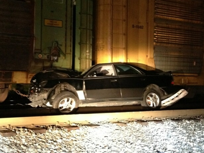 Train Hits Car, Tow Truck In Riverdale Park