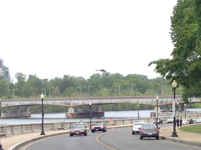 "D.C. Bridge Closes for New ""Captain America"" Film"