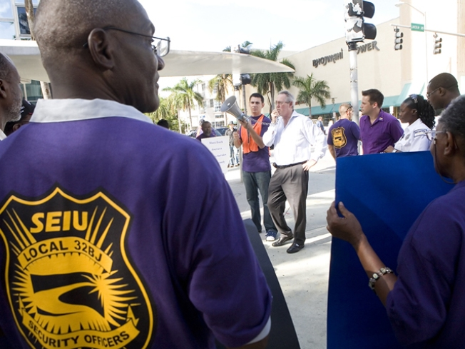 Strike Averted as Office Cleaners Agree to New Contract
