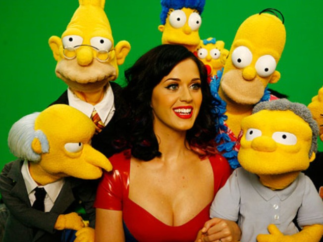 "Katy Perry to Guest Star on ""The Simpsons"""