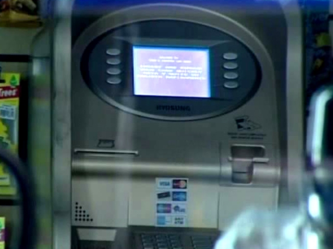 Thief Makes ATM Withdrawal From Back of Machine