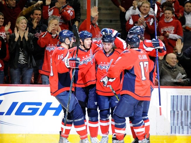 Ovechkin, Backstrom Spark Capitals
