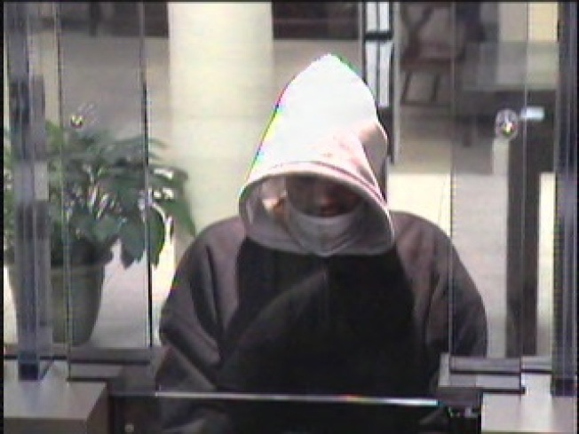 Woodbridge Bank Robber Hunted by Police