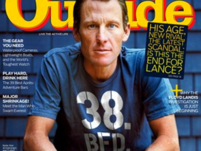 Lance Armstrong Outraged by Artificially Enhanced Mag Cover