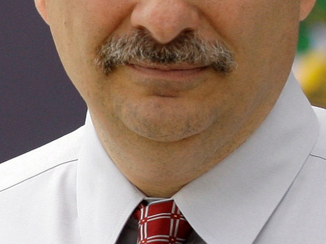 Axelrod in Running for Mustache of the Year