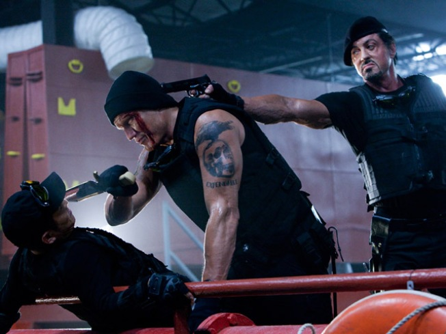 "Sly Stallone Eyes ""Expendables 2"""