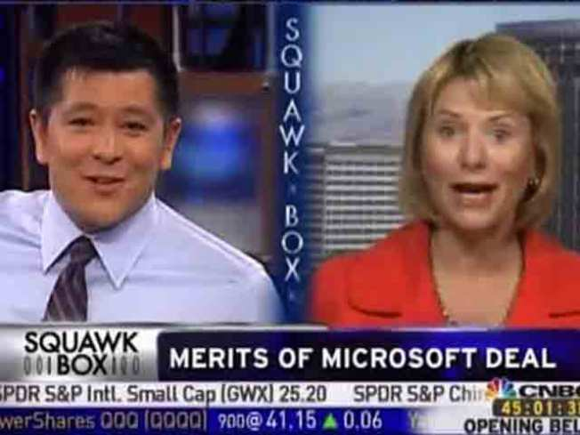 Bartz to CNBC: You Think I'm Stupid?