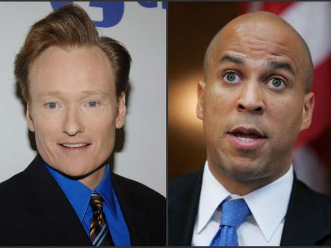 Conan, Mayor Booker Square Off On Screen