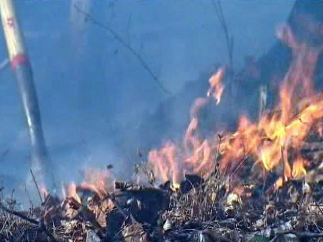 Maryland Brush Fires Continue to Smolder