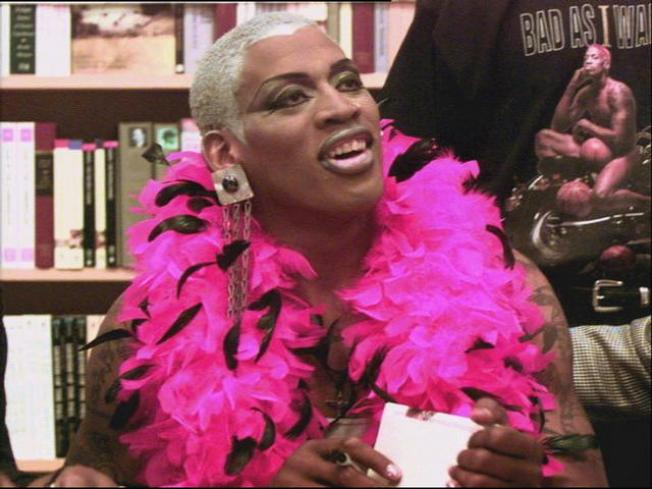 Rodman Grabs Lady's Crotch After Going Pretty in Pink