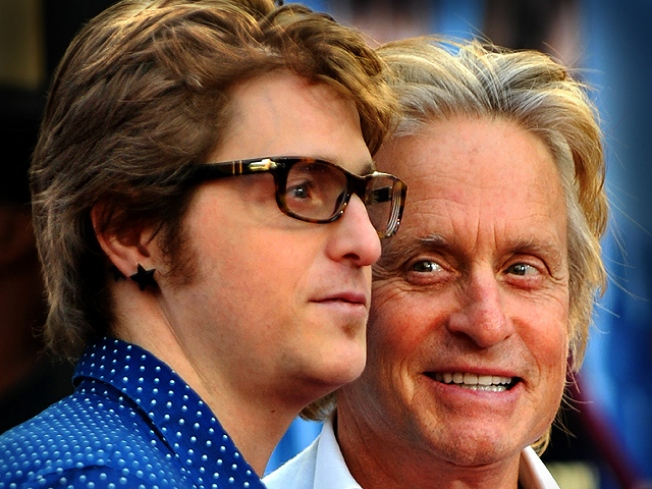 Michael Douglas' Son Busted For Meth