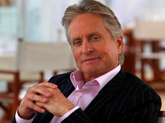 "Michael Douglas Will Promote ""Wall Street"" While Undergoing Chemo"