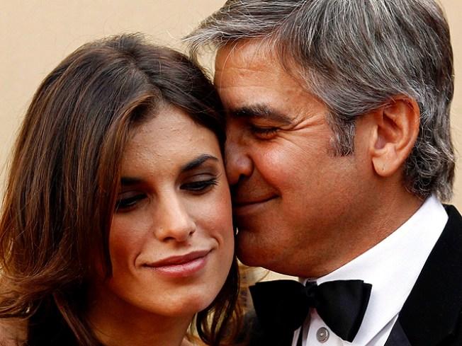 George Clooney Visits Elisabetta's Folks