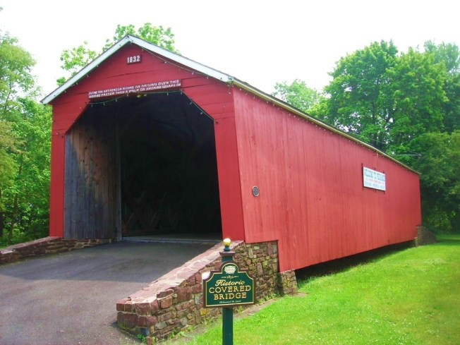 Tuesday sep 24 2013 updated at 2 26 pm edt for Covered bridge design plans