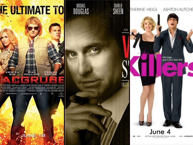 "New on Home Video: ""MacGruber,"" ""Killers"" and ""Wall Street"""