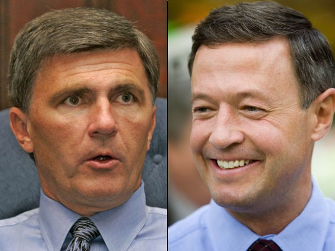 Ehrlich-O'Malley Debate Date Set