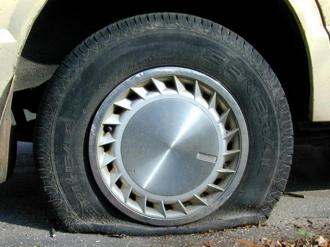 Judge Suspended for Deflating Tire