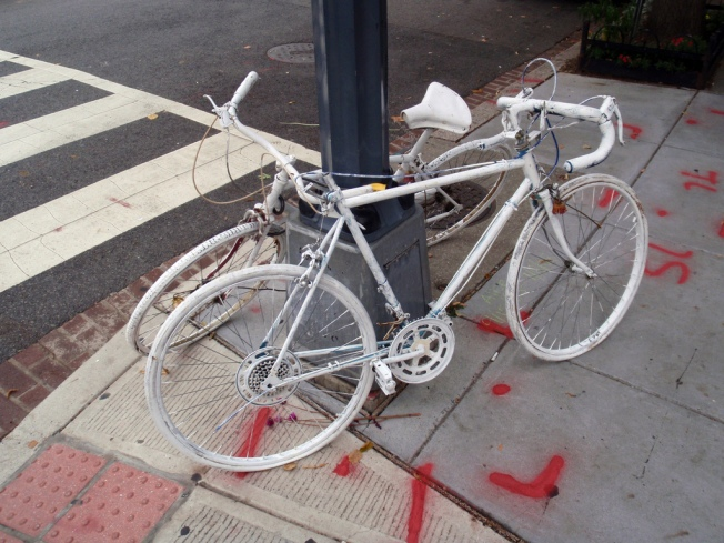 """Ghost Bikes"" Still Remind of Cycling Dangers"