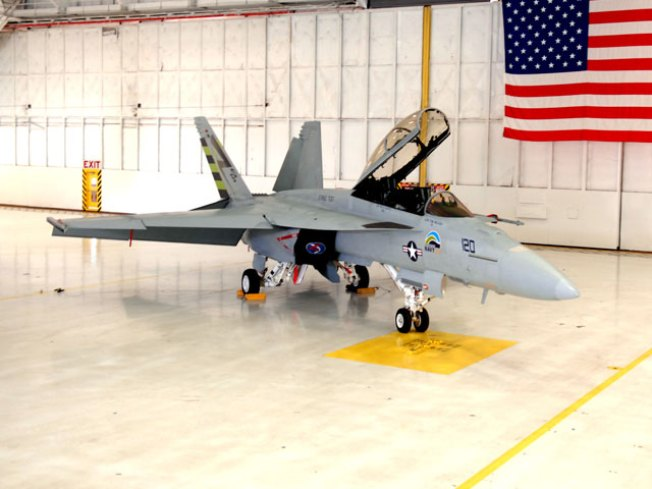 "Navy's ""Green Hornet"" Takes to Skies"