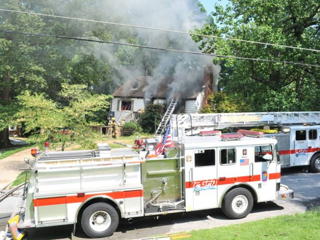 House Fire Starts After Power Restored