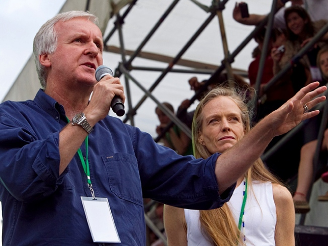James Cameron, Earth Day Group To Plant 1 Million Trees