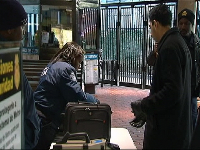 Random Bag Checks Frustrating Some Metro Riders