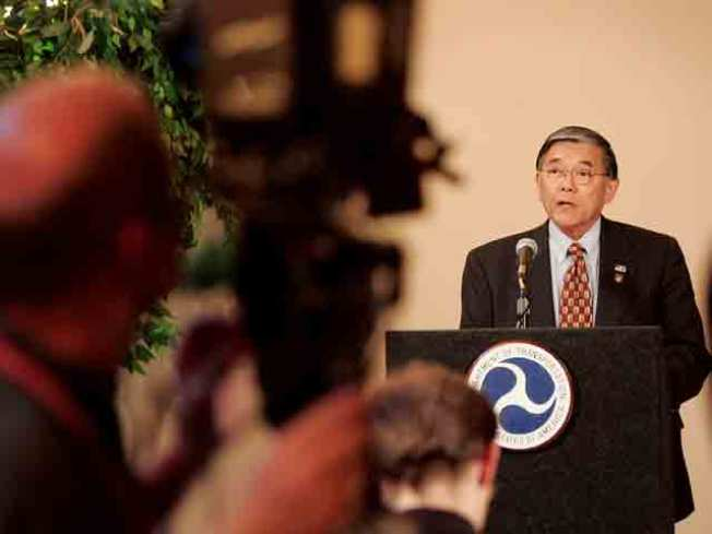 Norman Mineta Portrait on Permanent Display
