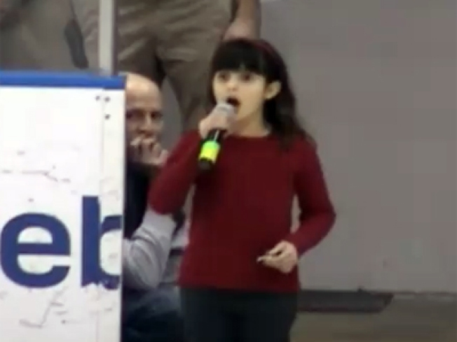 Young Singer Shines in National Anthem Do-Over