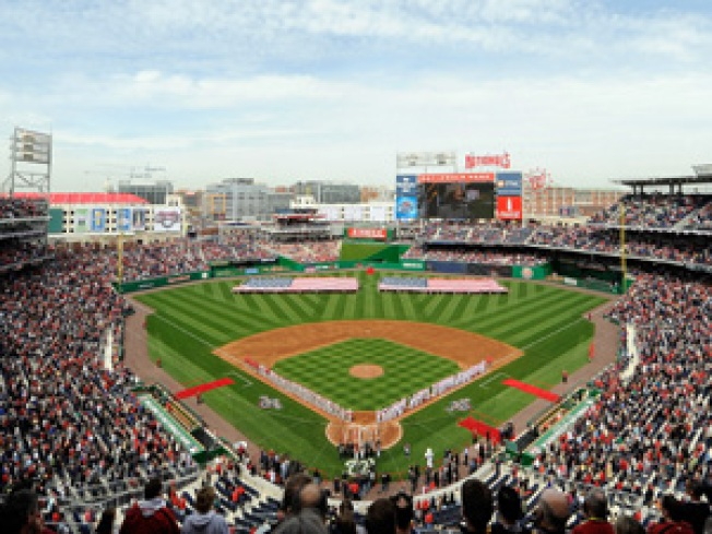 Mock Terror Attack at Nats Park