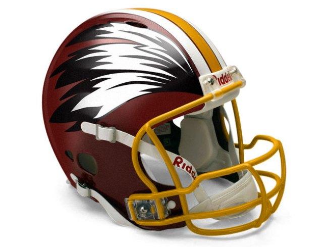 The Redskins' Fabulous Helmet Makeover