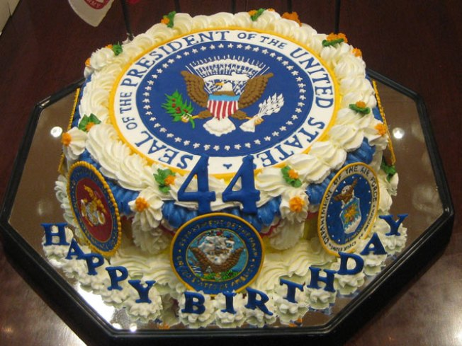 Stylish Prez, Hideous Birthday Cake