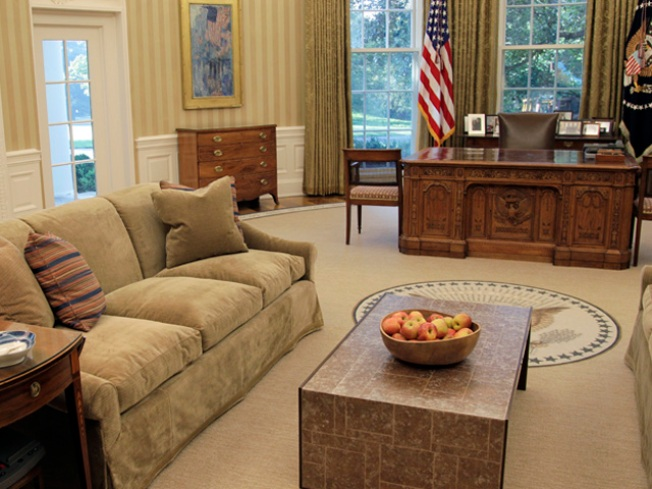 Oval Office Redesigned