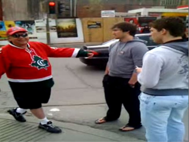 Ovechkin, Semin Roam Montreal Streets for Tickets