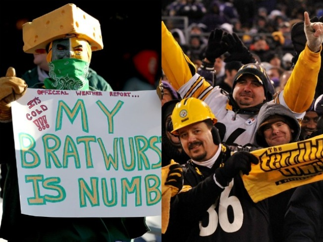 Police Warn of Cheese Heads, Terrible Towels While Driving