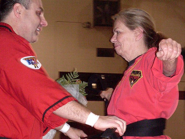 72-Year-Old Earns 3rd Degree Black Belt
