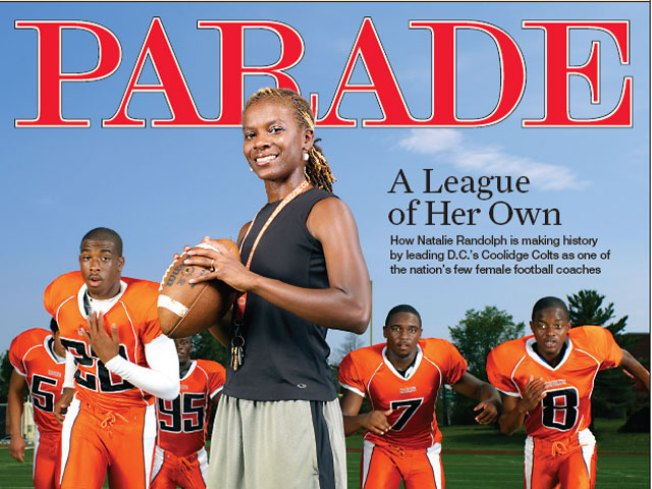 Cover Girl: D.C. Coach Makes National Pub