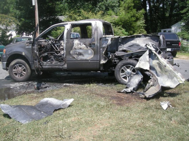 Propane Explosion Makes for Pricey, Painful Barbecue