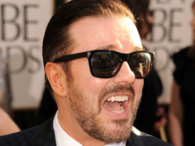 Rumors Fly When Ricky Gervais Goes MIA at the Golden Globes