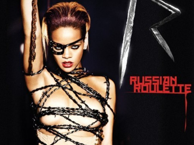 Rihanna Rocks Barbed-Wire Outfit on New Single Cover