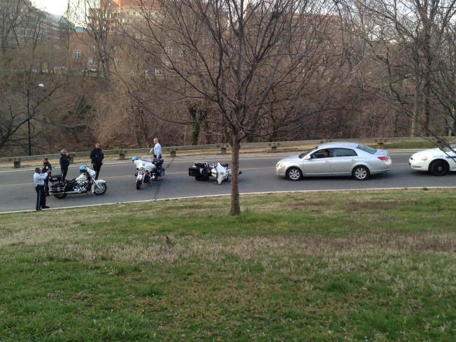 Park Police Officer Hurt in Rock Creek Parkway Motorcycle Accident