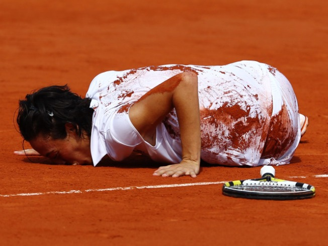 Italian Wins Women's French Open Title