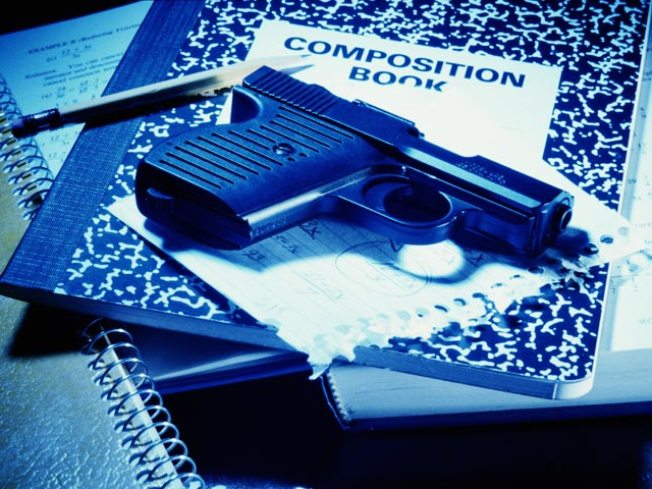 12-Year-Old Takes Unloaded Gun to School