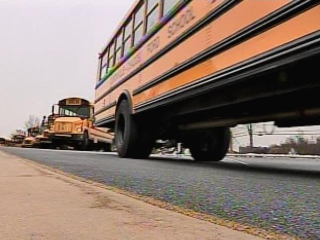 Bullet Strikes Fairfax County School Bus